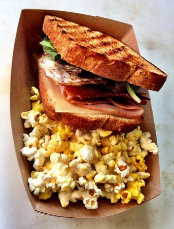 Mill Street Melts: Ham, Egg, and Cheese with Lettuce and Bacon #GotMelts