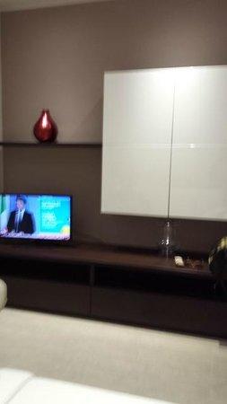 La Farina Apartments: livingroom