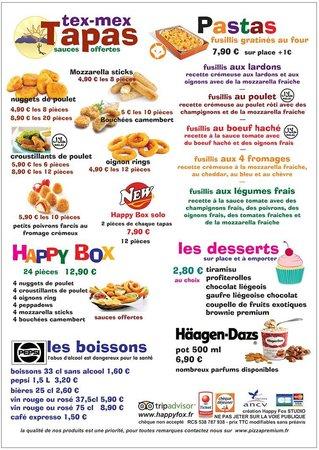 HAPPY FOX : Pastas et Tapas...