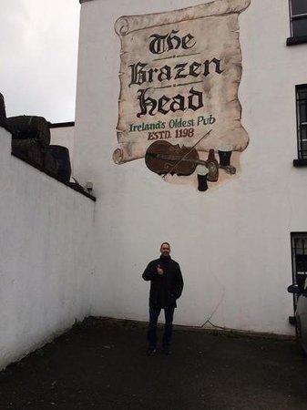The Brazen Head: oldest pub in Ireland!