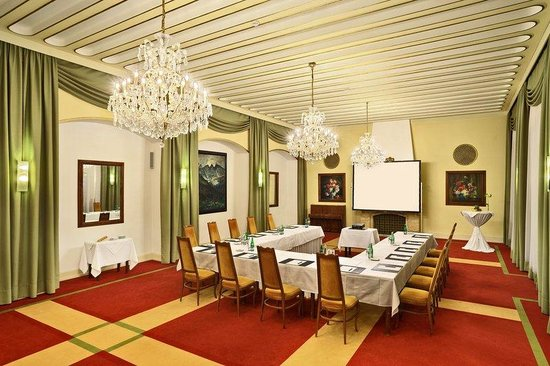 Banquet Room at Grandhotel Brno