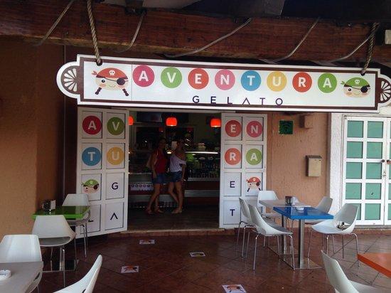 Aventura Gelato: Les meilleurs glace de la zona de Cancún , playa del Carmen y puerto adventuras a tout mes amis