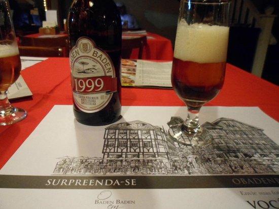Baden Baden : 1999, cerveja maravilhosa!
