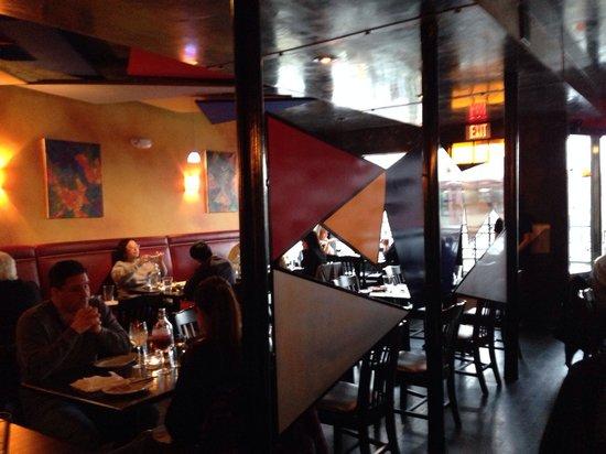 Ibiza Tapas: Main dining area