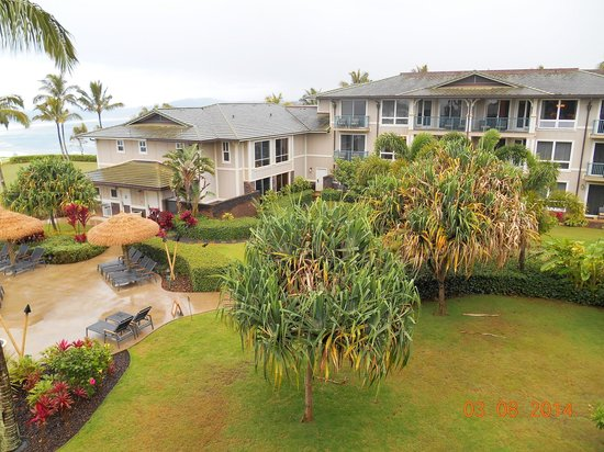 Westin Princeville Ocean Resort Villas: The grounds around our unit