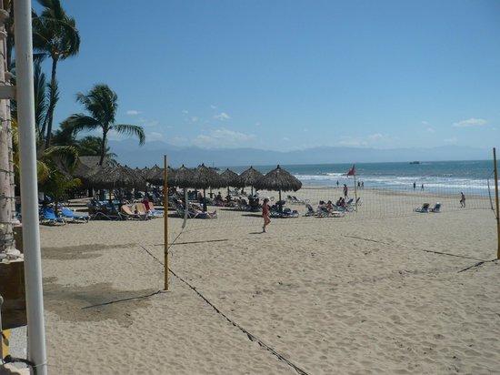 Occidental Nuevo Vallarta : Remarquable plage spacieuse face à notre site!