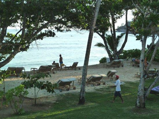 Kempinski Seychelles Resort : Aussicht v. Balkon Haus 300er