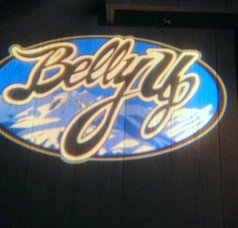 Belly Up: signage