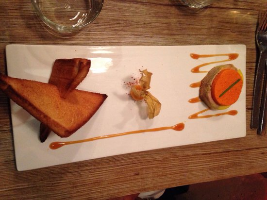 Baleak : Mi cuit de foie gras