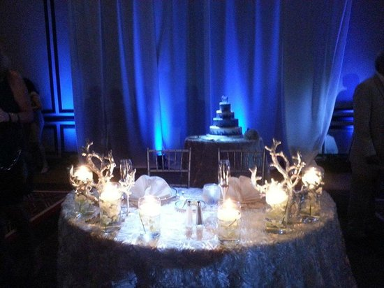 PGA National Resort & Spa: sweetheart table