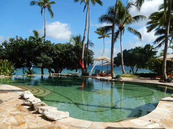 Royal Davui Island Resort: Pool/Beach area