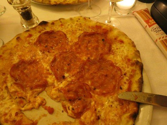 Shelter Ristorante and Pizzeria: Pizza Diavolo