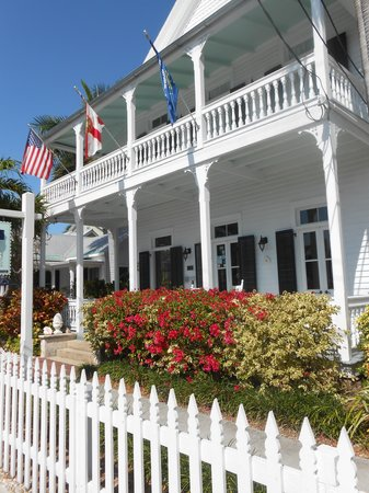 Everywhere you look there is beauty at the Conch House Heritage Inn in Key West.