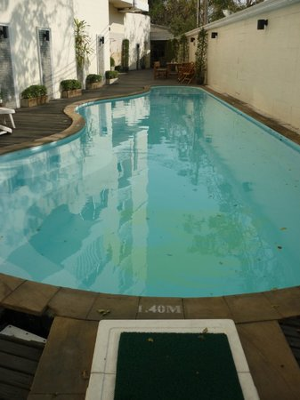 Royal Peninsula Hotel Chiang Mai: Pool - a few leaves floating about