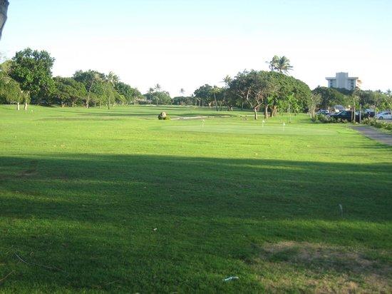 Paradise Grill and Mello's Bar: 18th hole Ka'anapali Golf Course