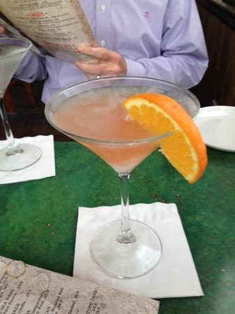 Salt Rock Grill: The dramatic and delicious Orange Cosmo