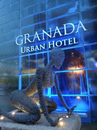 Riande Granada Urban Hotel: Entrata