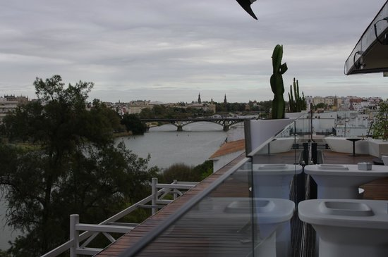 Ribera de Triana Hotel : Terraza 5 planta
