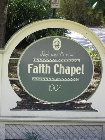 Jekyll Island Historic District: You must go in  this Chapel