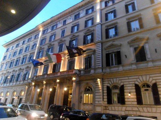 The St. Regis Rome : exterior of hotel
