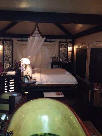 Four Seasons Tented Camp Golden Triangle : Tent 4 - butterfly