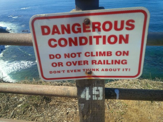 The Point Vicente Interpretive Center: Just in case you thinking otherwise