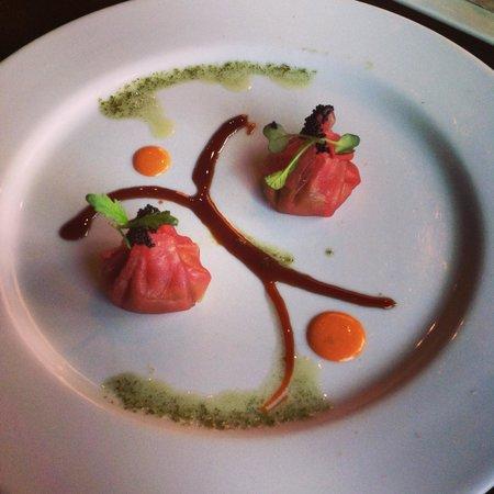 Osaka Japanese Sushi & Steak House: Tuna dumplings