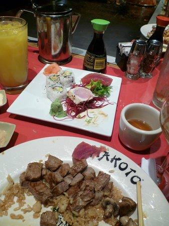 Makoto: Yummy!