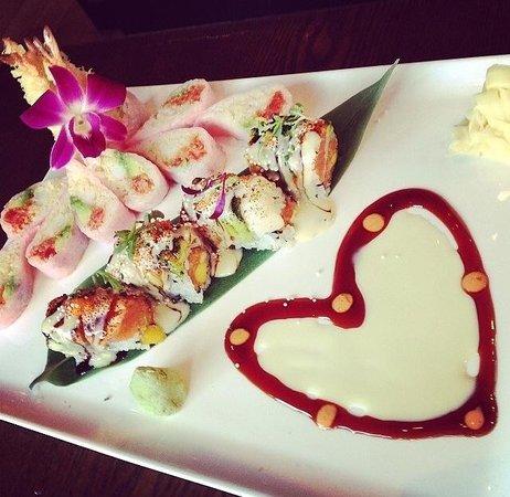 Osaka Japanese Sushi & Steak House: Special roll set