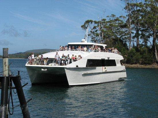 Site historique de Port Arthur : The boat trip :-)