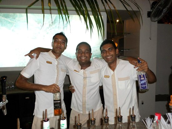 Blumarine Attitude: l'equipe du bar