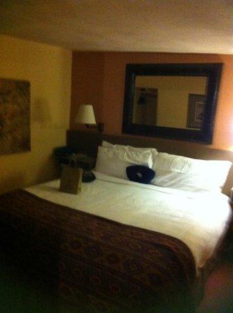 Las Palomas Inn Santa Fe: Nice big bed