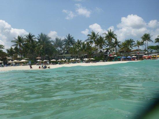 Banana Fan Sea Resort from water