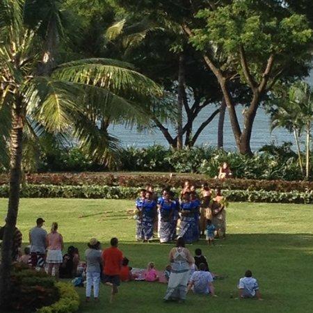 Nadina Authentic Fijian Restaurant: View from my hotel room balcony