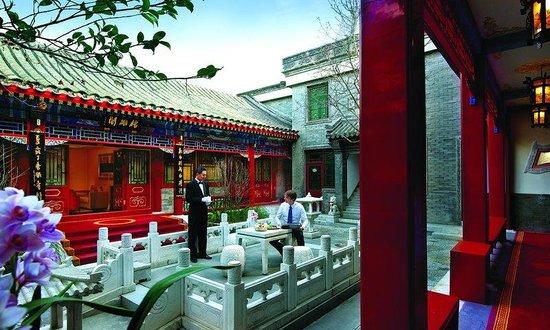 Han's Royal Garden Hotel: Our 3rd Courtyard