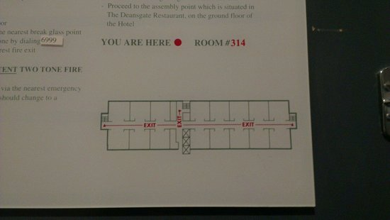 Renaissance Manchester City Centre Hotel: My room isn't in the hotel?!?!