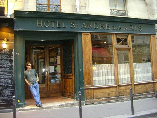 Hotel St. Andre des Arts : Entrada do hotel