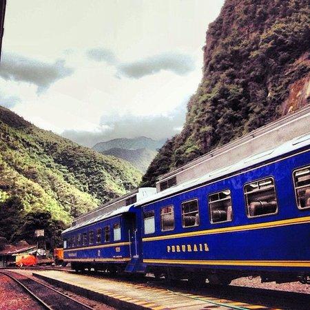 Machu Picchu: Tren