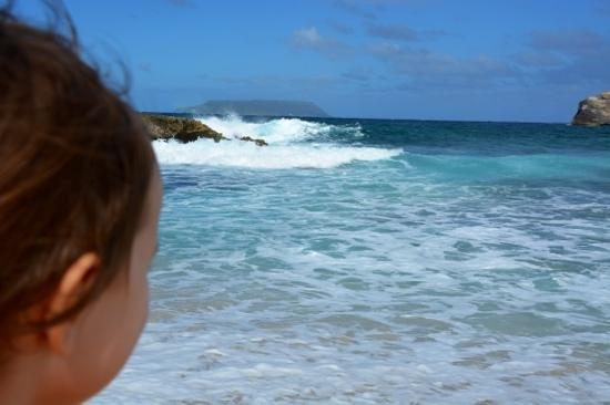St. Anne Beach: mia Figlia il grande Oceano.