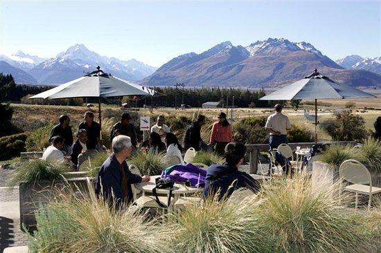 Tasman Delta Cafe  Mt  Cook Village