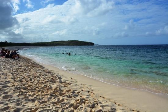 St. Anne Beach: il calmo Caribe.