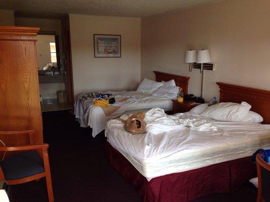Fairway Inn Florida City : Großes Motelzimmer