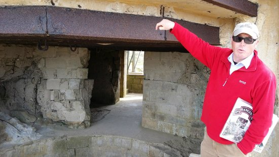 Dale Booth Normandy Tours: The German Bunkers at Pointe du Hauk