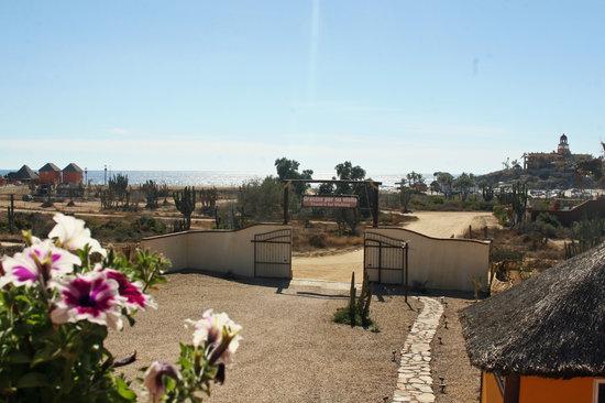 Olas de Cerritos: Vista a la Playa