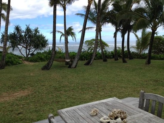 Hale Makai Cottages : View from deck of #3