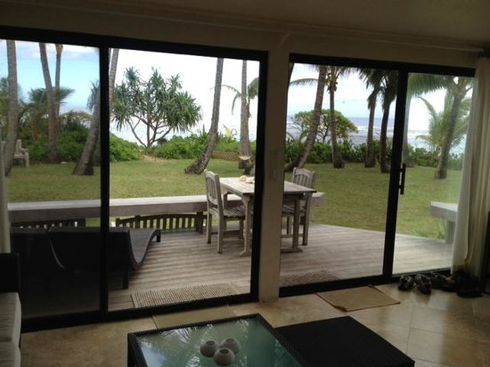 Hale Makai Cottages : View from livingroom of #3
