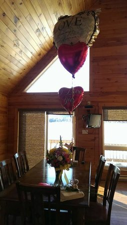 Riverfront Chalets & Rafting Newfoundland: Romantic Package
