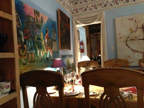 Octava de Corpus: dining area