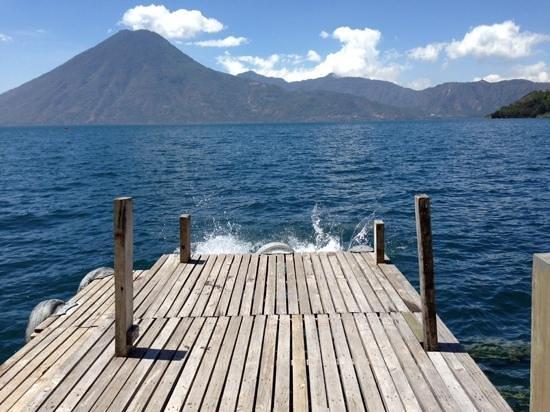 Lomas de Tzununa: Boat deck