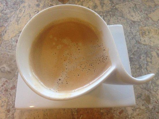 Belgium Bakery: Morning coffee
